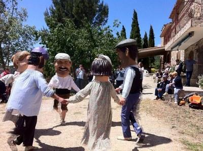 Actuació dels Capgrossos de Vandellòs