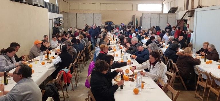 L'esmorzar popular de la Festa de l'oli