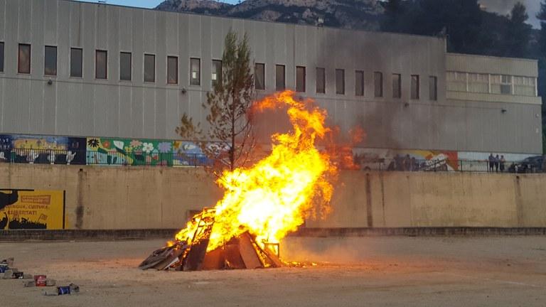 La foguera de Vandellòs