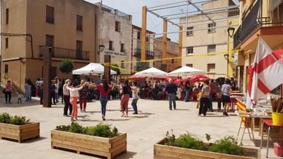 Sardanes a la Plaça Drs. Gil-Vernet de Vandellòs