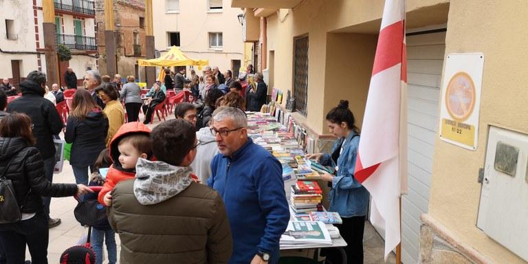 Venda de llibres a Vandellòs