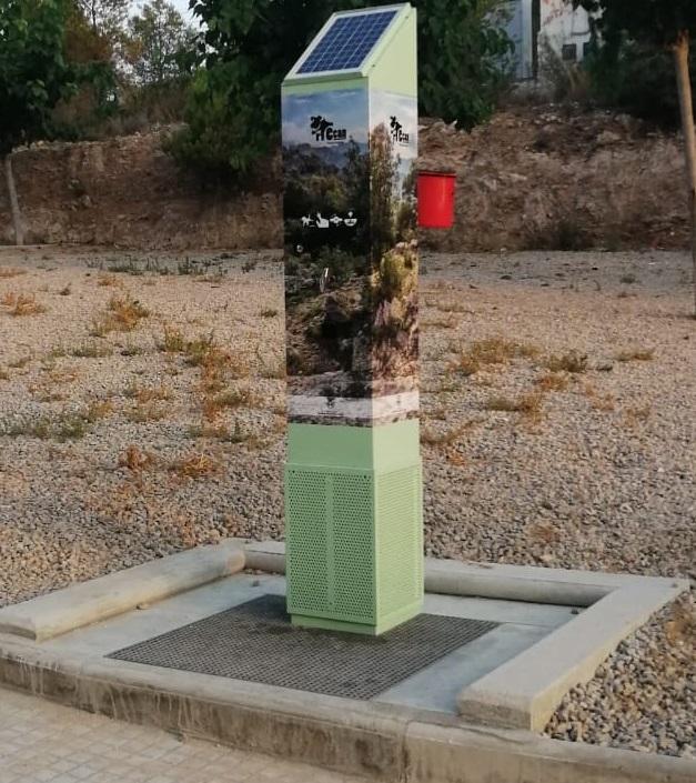 Nou Pipi-Can instal·lat a l'Hospitalet de l'Infant